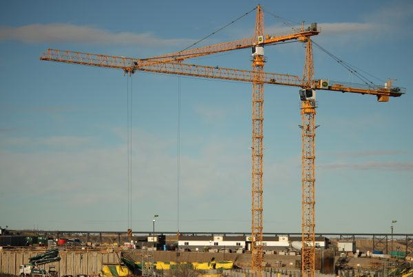 A tale of two tower cranes